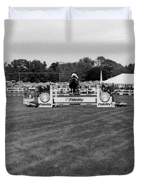 Horse Show  Duvet Cover