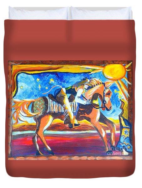 Horse Whisperer Duvet Cover