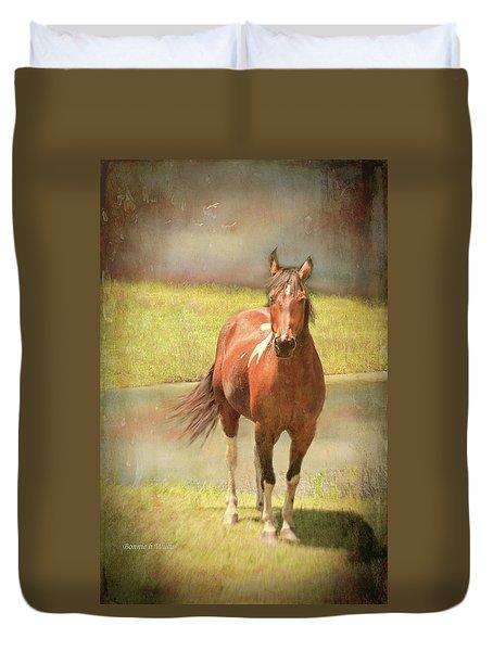 Horseing Around Duvet Cover