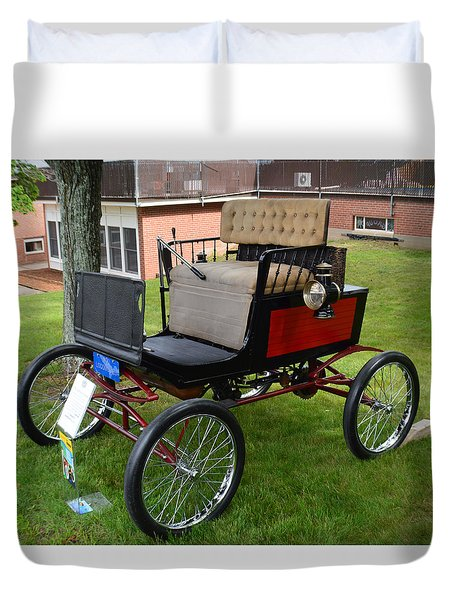 Horseless Carriage-c Duvet Cover