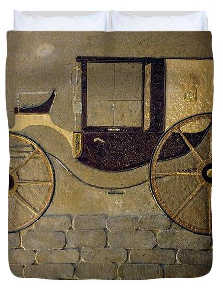 Horseless Carriage Duvet Cover