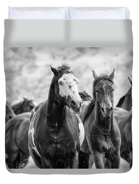Horsepower Duvet Cover