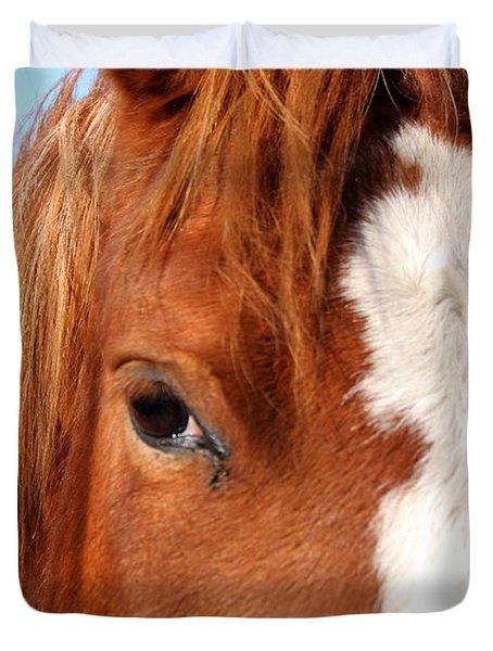 Horse's Mane Duvet Cover