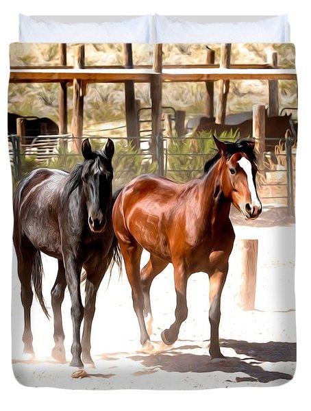 Horses Unlimited_6a Duvet Cover