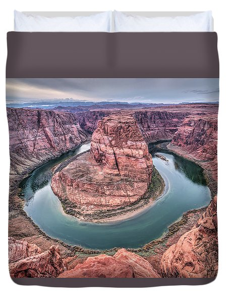Horseshoe Bend Arizona Duvet Cover