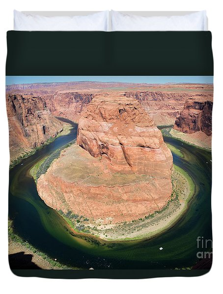 Horseshoe Bend Colorado River Duvet Cover