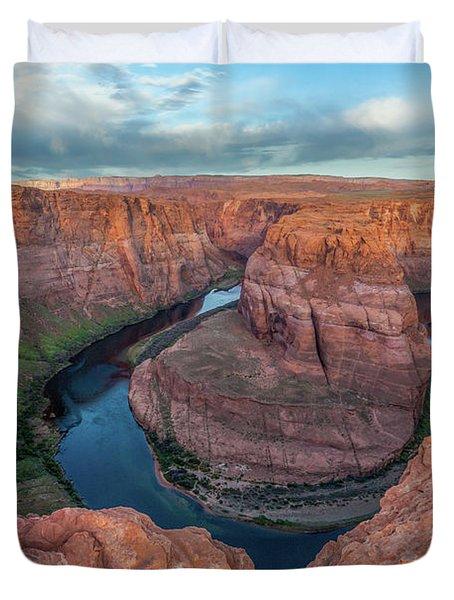 Horseshoe Bend Morning Splendor Duvet Cover