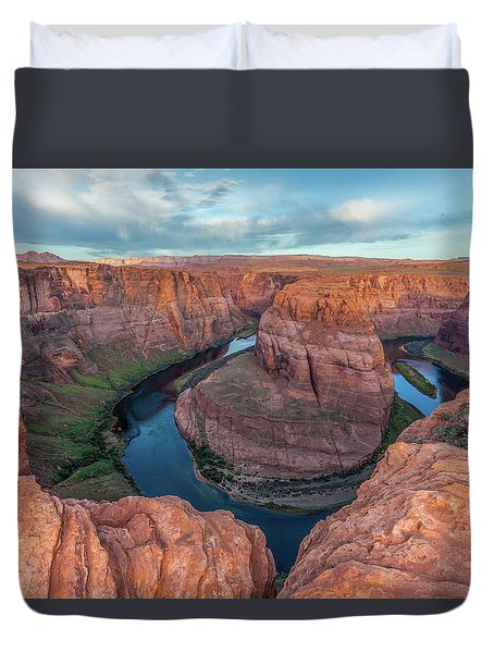 Horseshoe Bend Morning Splendor Duvet Cover