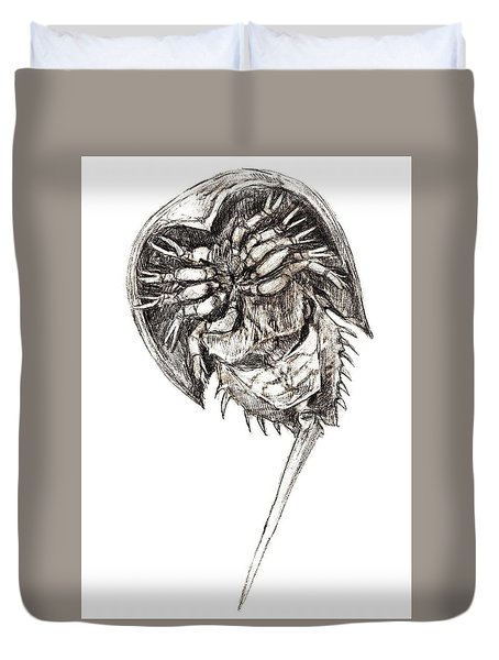 Horseshoe Crab Duvet Cover