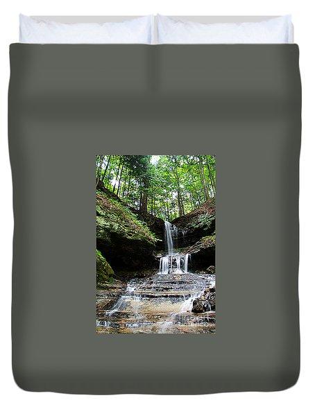 Horseshoe Falls #6736 Duvet Cover