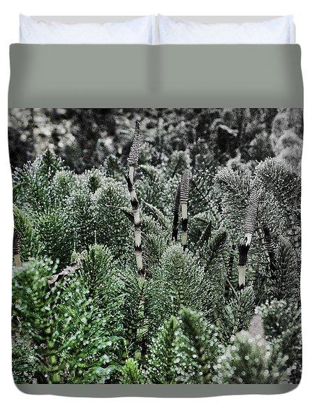 Horsetail Dewpoint Duvet Cover