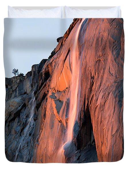 Horsetail Falls 2 Duvet Cover