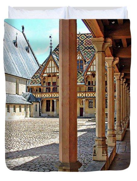L Hotel-dieu De Beaune Duvet Cover