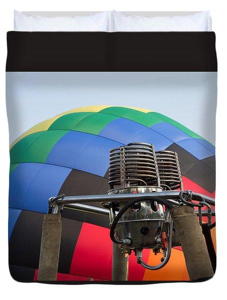 Hot Air Balloning Duvet Cover
