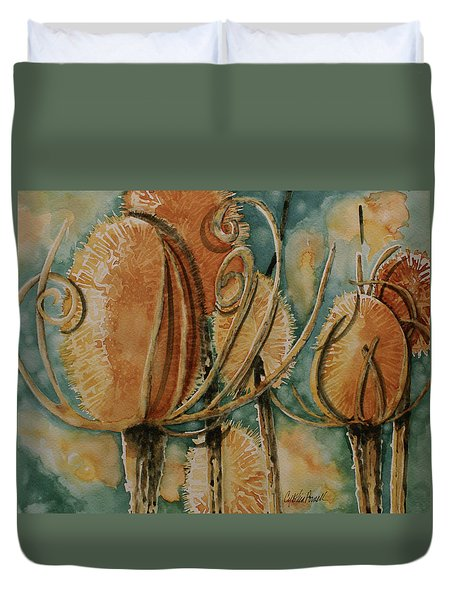 Hot Desert Sun Duvet Cover