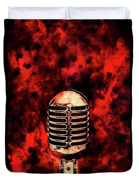 Hot Live Show Duvet Cover