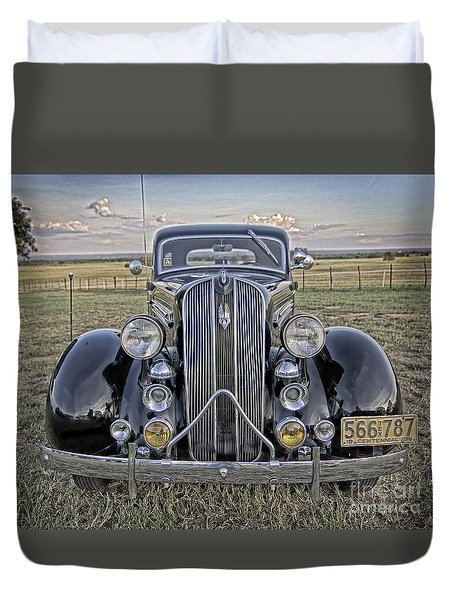 Hot Off The Grill Duvet Cover