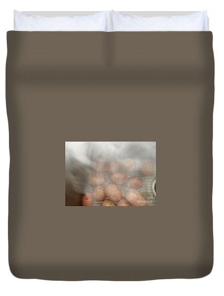 Hot Potato Duvet Cover by Kim Nelson