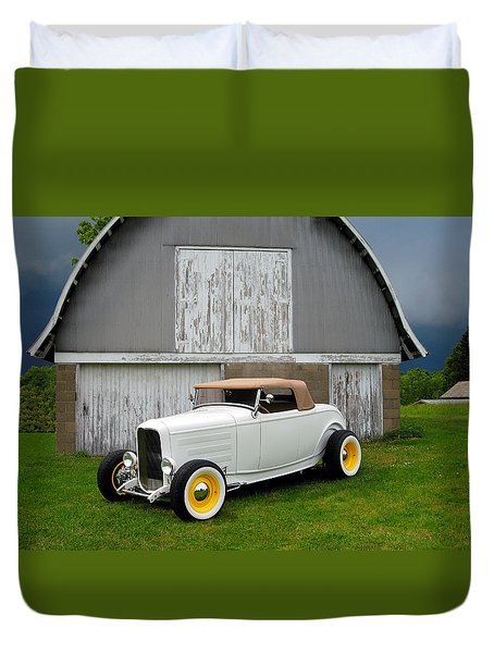 Hot Rod Duvet Cover