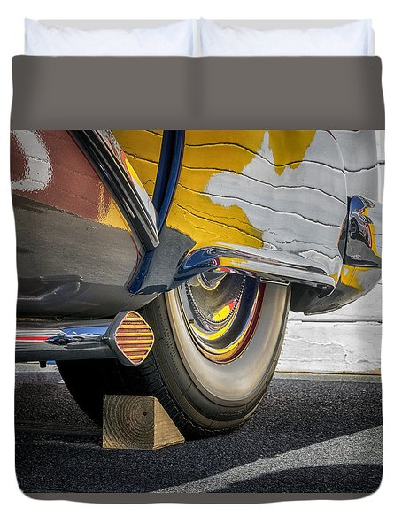 Hot Rod Realities Duvet Cover