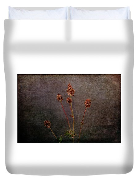 Duvet Cover featuring the photograph Hot Summer Victims by Randi Grace Nilsberg