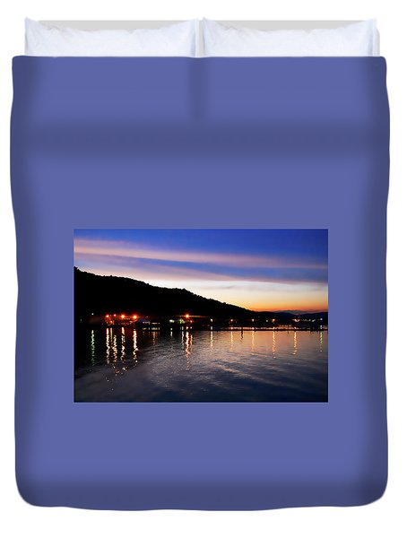 Hot Summers Night Duvet Cover