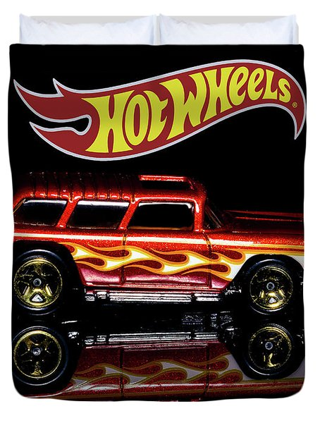 Hot Wheels '55 Chevy Nomad Duvet Cover