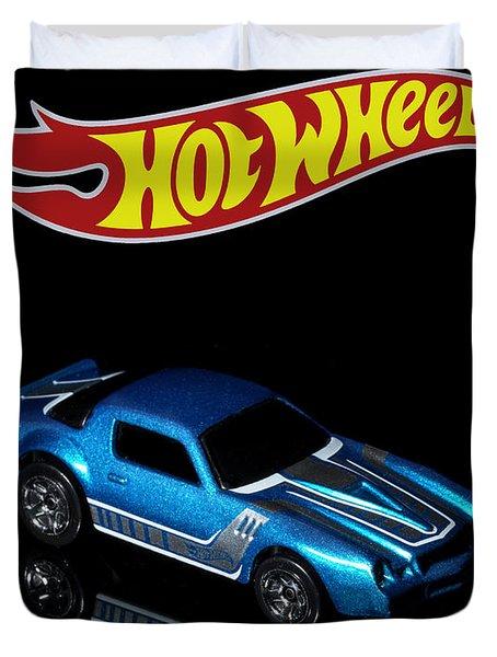 Hot Wheels 67 Pontiac Firebird 400-3 Duvet Cover