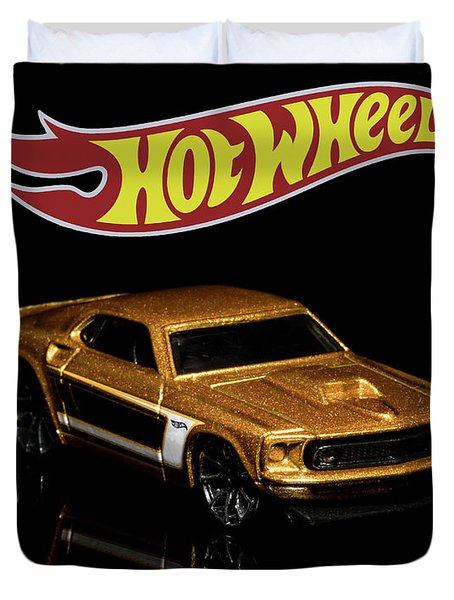 Hot Wheels '69 Ford Mustang 2 Duvet Cover