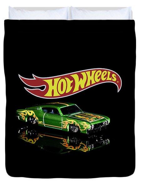 Hot Wheels '69 Ford Torino Talladega Duvet Cover