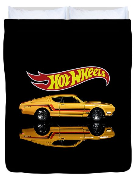 Hot Wheels '69 Mercury Cyclone Duvet Cover