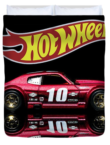 Hot Wheels '70 Chevy Chevelle-1 Duvet Cover