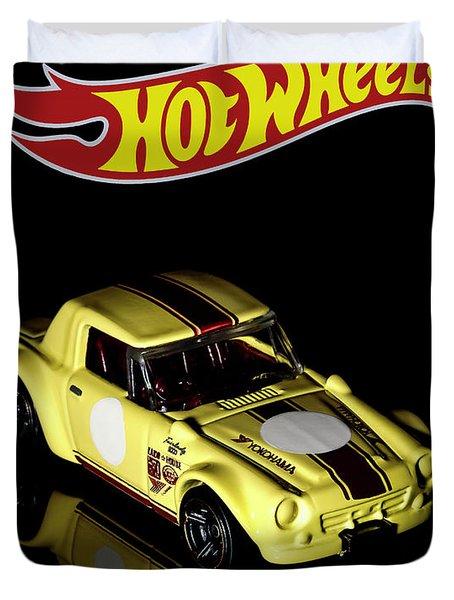 Hot Wheels Datsun Fairlady 2000 Duvet Cover