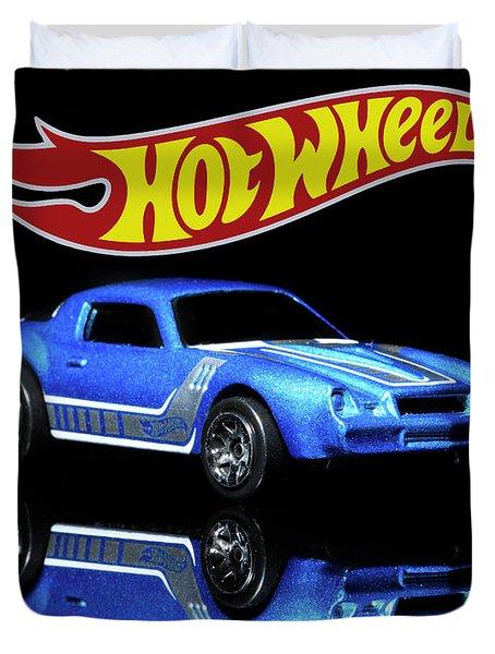 Hot Wheels Gm Camaro Z28 Duvet Cover