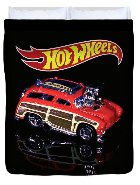 Hot Wheels Surf 'n' Turf Duvet Cover