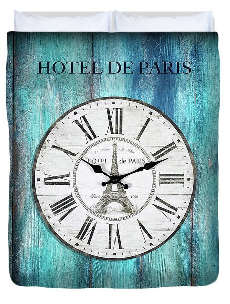 Hotel De Paris Duvet Cover