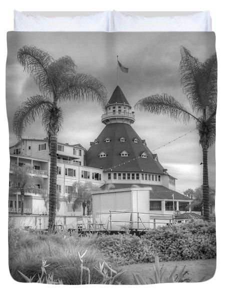 Hotel Del Coronado Duvet Cover