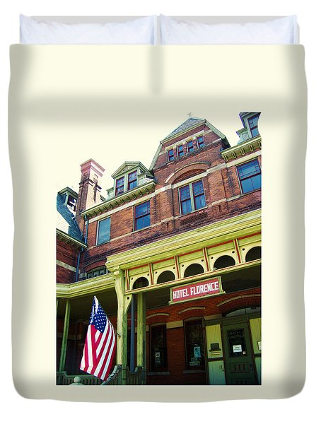 Hotel Florence Pullman National Monument Duvet Cover by Kyle Hanson