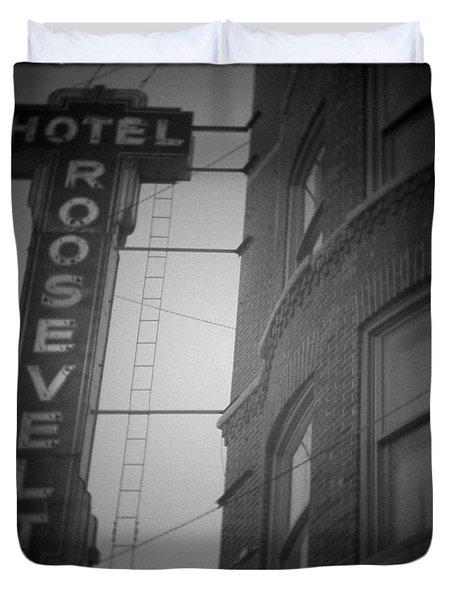Hotel Roosevelt Duvet Cover