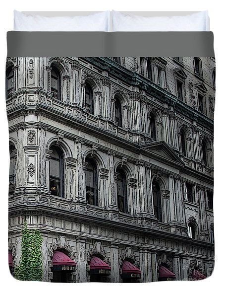 Hotel St. James Duvet Cover