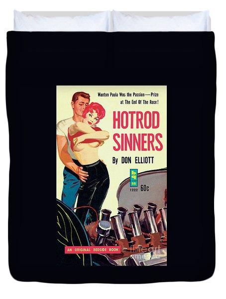 Hotrod Sinners Duvet Cover