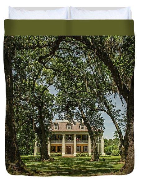 Houmas  House Plantation And Gardens Duvet Cover