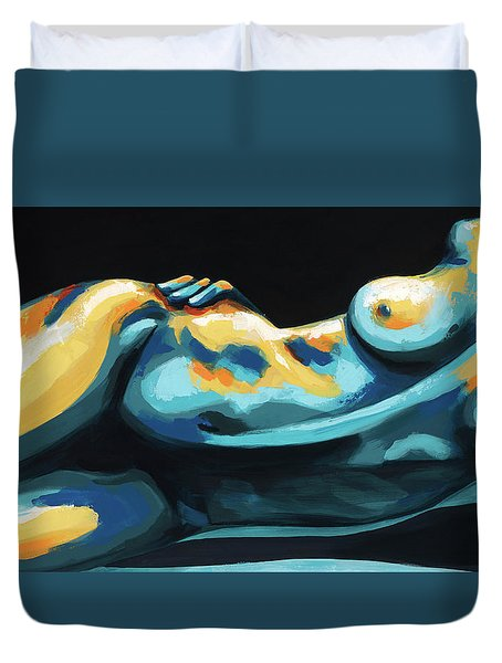 Hour Glass Duvet Cover