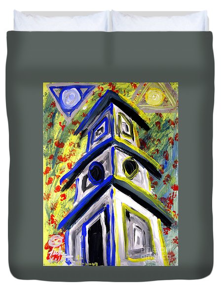 House Duvet Cover by Luke Galutia