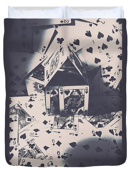 House Of Cards Duvet Cover