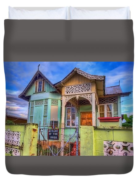 House Of Colors Duvet Cover