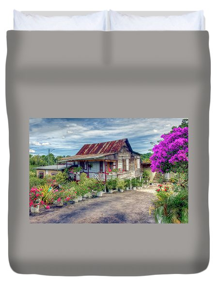 House Of Flowers  Duvet Cover