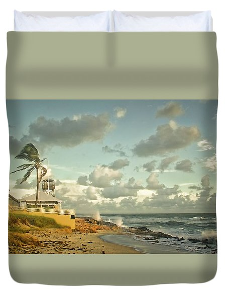 House Of Refuge Duvet Cover