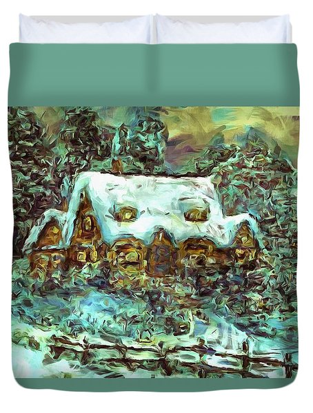 House Of Solace Duvet Cover