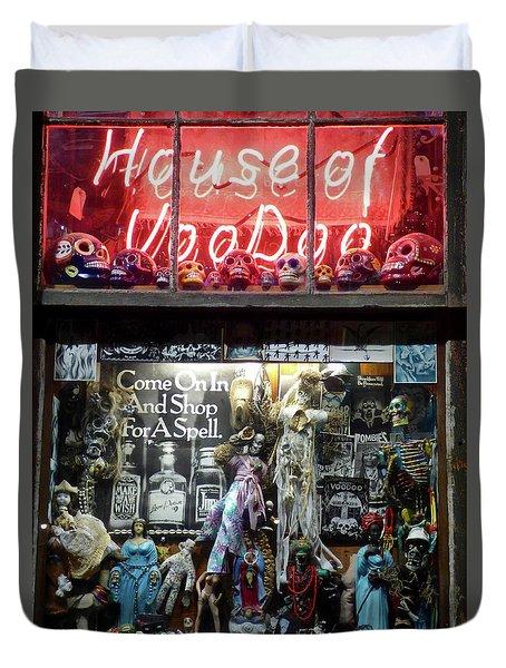 House Of Voodoo Duvet Cover